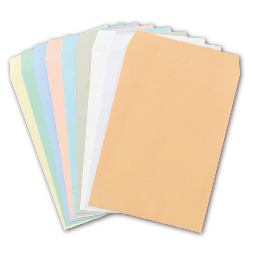 角2カラー封筒各種